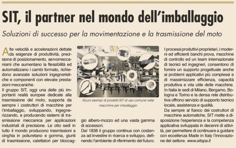 Articolo sole24ore eccellenze italiane