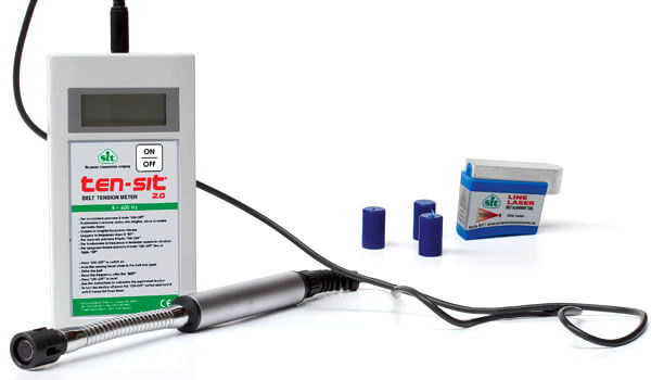 Regolazione della trasmissione Ten-Sit e Line-Laser